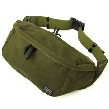 New YOSHIDA PORTER BEAT WAIST BAG(L) 727-09048 Green With tracking From Japan
