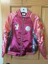 NWT Disney Store Moana Varsity Jacket Girl Size 4,5/6,7/8,9/10