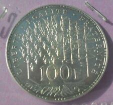 100 Francs Panthéon 1983 : SPL : pièce de monnaie Française ARGENT N11
