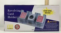 9 Playing Card Deck 2 Piece Rotating Tray CHH Inc.