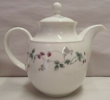 Rare Royal Doulton Expressions Strawberry Fayre Teapot c1991-98 Made in England