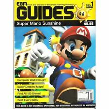 Egm Game Guides NO.1 Super Mario Sunshine Egm Game Guides NO.1 Strategy