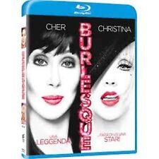 Blu Ray  BURLESQUE - (2011) *** Cher, Christina Aguilera, Eric Dane *** ...NUOVO