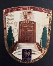 ADAC Württemberg Heimatwettbewerb 1980 Museen und Sammlungen