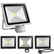 10W 20W 30W 50W 100W Warmweiss/Kaltweiss/RGB LED Fluter Außen Strahler Flutlicht