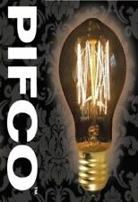 PIFCO GLS 40 WATT E27 ES VINTAGE MINI GLOBE RETRO LIGHT BULBS