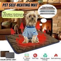 Hundebett Selbstheizende Haustier Wärmematte Wärmedecke für Hunde und Katzen DE