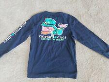 Boy's Vineyard Vines Long Sleeve St Patrick's Day Irish T-Shirt Small S 8-10