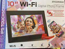 "SYLVANIA 10"" WI-FI DIGITAL PHOTO FRAME (SDPH1095-B) NEW IN BOX"