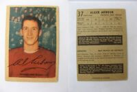 1953-54 Parkhurst #37 Arbour Alger UER RC   wings $ 80