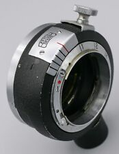RARE - Zeiss Ikon Contax Rangefinder Camera Lens Macro Close Up Helical Adapter
