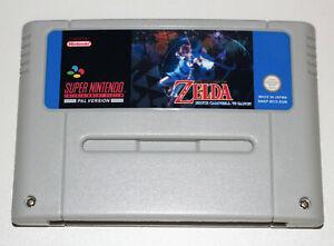 PAL Version The Legend of Zelda Bruce Campbell vs Ganon For Super Nintendo SNES