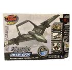 Air Hogs Hawkeye Blue Sky RC Adrenaline video camera plane - NEW in SEALED box