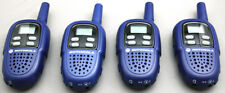 Lot of 4 Motorola TalkAbout FV300AAA Compact FRS GMRS 2-WAY Radios Walkie Talkie