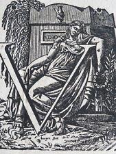 RARE AFFICHE PLACARD MORTUAIRE MORT GUINEBAUD IZAMBERT ORLEANS LOIRET 1814