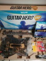 Guitar Hero Live (Wii U, 2015)new open box please read