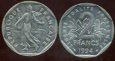 2 francs 1994   NICKEL  semeuse  ( bis )