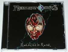MOONLIGHT CIRCUS - Madness In Mask (NEW*EPIC POWER/PROG METAL*WARLORD*ADRAMELCH)