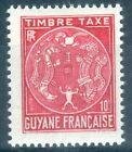 GUYANE - TAXE N° 22 - NEUF ** LUXE