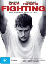 FIGHTING DVD=CHANNING TATUM=REGION 4 AUSTRALIAN RELEASE=NEW AND SEALED