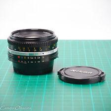 Nikon 50mm f/1.8 Nikkor AI-S Pancake Lens (D200 D300 D600 D700 D800 D7000)