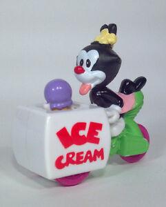 "Vintage 1993 Burger King Animaniacs 3"" Dot With Ice Cream Cart"