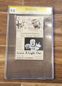 THESE TERRIBLE TIMES #1, Deaf Mute Comics, CGC 9.8, Signed Hurley & Forsberg