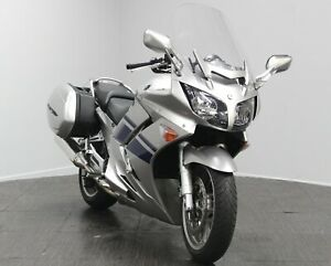 2009 09 Yamaha FJR1300 A, 28k miles, Panniers, FJR 1300, Service History, Silver