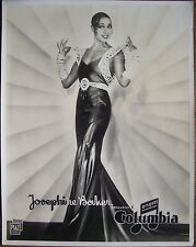 Great portrait JOSEPHINE BAKER, Disques Columbia, f16023