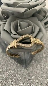 GOLD FILLED GOLD LOOP GUCCI STYLE BANGLE GYSPY