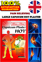 Large Capsicum Plaster TIGER Hot Pain Relieving Patches Muscle Relief+Belladonna