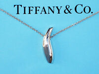 Tiffany & Co Sterling Silver Frank Gehry Fish Necklace