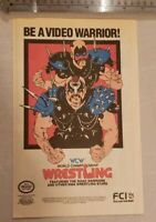 WCW Wrestling Nintendo RARE Advertisement