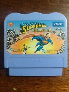 Vtech V.Smile SUPERMAN The Greatest Hero Game Cartridge Only
