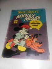 Four-COLOR MICKEY MOUSE #286 1950 THE UNINVITED GUEST WALT DISNEY DELL comics