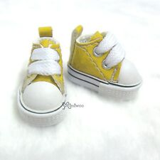 """Mimi Collection 12"""" Neo Blythe Pullip Doll PU Leather MICRO Shoes Sneaker YELLOW"""
