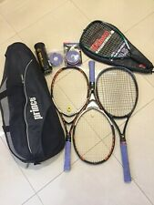 Tennis Rackets Bundle with Prince Bag