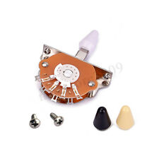 5 Way Electric Guitar Pickup Toggle Switch Selector With Tips OAK