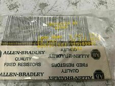 Lot Of 50 Rc07gf104j Allen Bradley 100k Ohm 14 Watt 5 Carbon Comp Resistor Nos