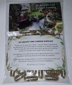 100 x Aquatic Aquarium Plant Fertiliser Tablets Snail/Shrimp safe. OSMOCOTE AAA+