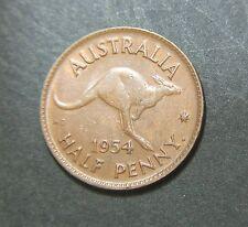 1954 Australian Half Penny,