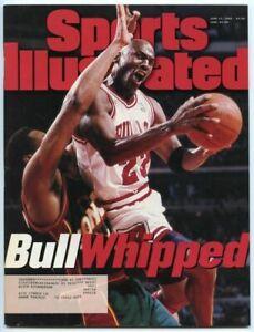 SI: Sports Illustrated June 17, 1996 Michael Jordan, Basketball, Chicago Bulls