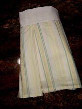 Pottery Barn Teen Full Sweet Ruffle Stripe Bed Skirt