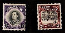 COOK ISLAND  #122-123  WMK: 253   MINT NH  (1601018)
