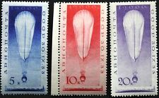 RUSSIA SOWJETUNION 1933 453-55 C37-39 Stratostat Ascent into Stratosphere MNH 2