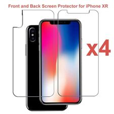 "4 x Front & Back LCD Screen Protector Guard for Apple iPhone XR for 6.1"" Screen"