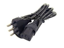 3-PRONG 2 METER 220V 10A TYPE L DELL ITALY CHILE COMPUTER POWER CORD CABLE 23322