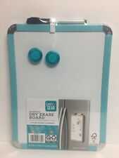 """Pen + Gear Magnetic Dry Erase Board, Magnetic 8.5"""" x 11"""" (Teal) NEW"""