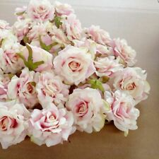 Artificial Flower Head New Year Wedding Christmas Decoration 10cm 10PCS DIY Rose