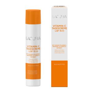 Lacura  Vitamin C Tagescreme mit LSF 15
